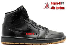 Air Jordan 1 Retro - Chaussures Basket Jordan Pas Cher Pour Homme Noir/brun…