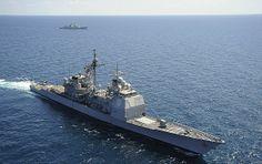USS Chosin Missile Cruiser (Hawaii) 1991