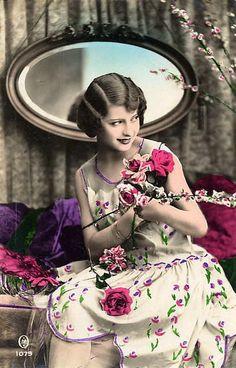 vintage women postcards | Vintage Ladies Cabinet Cards (101)from vintageimages.org