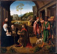 The Adoration of the Magi- Gerard David, Brujas 1520