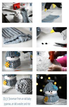 18 Snowman Crafts For Kids