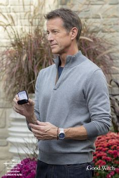 Sam (James Denton) may have found the perfect ring for Cassie (Catherine Bell)! But it holds a secret! Find out on the season premiere of Good Witch, April 29 at 9/8c!  #Goodies #HallmarkChannel #GoodWitch
