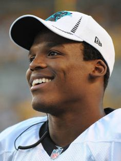 The Hottest Guys of the NFL: Cam Newton, Carolina Panthers. Those eyes, that smile. War Eagle