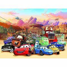 Disney Cars Photo Wall Mural Wallaper: Amazon.co.uk: DIY Tools