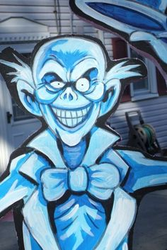 Static: Hitchhiking Ghosts - Page 7 Halloween Yard Art, Halloween Forum, Halloween Ghosts, Disney Halloween, Diy Halloween Decorations, Fall Halloween, Halloween Crafts, Halloween Stuff, Halloween Ideas
