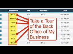 https://www.youtube.com/watch?v=_QnSk8DJB3A  https://www.youtube.com/watch?v=_QnSk8DJB3A - Internet home business back-stage pass in to my back office to show you the thousands of dollars in commissions I've earned over the past few using a simple strategy. Want a legitimate work from home business? Want to legitimately make money online from home? Check out this video that shows my legitimate home based business.