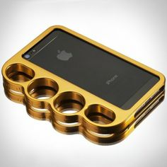 iPhone 5 | Gold Brass Knuckle Case