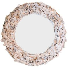 Low Country Originals May River Oyster Shell Mirror