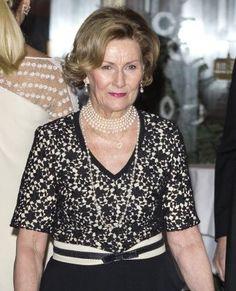 Queen Sonja of Norway at te Nobel Peace Prize Banquet - 10.12.15