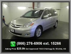 2010 Toyota Sienna XLE Mini-Van   Clock: In-Dash, Auxilliary Engine Cooler, Passenger And Rear, Type Of Tires: As, Tilt And Telescopic Steering Wheel, Speed Sensitive Audio Volume Control, Semi-Independent Rear Suspension, Rear Quarter Windows: Wiper Park,