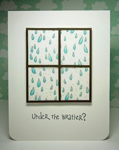 Under The Weather? by pryn - Cards and Paper Crafts at Splitcoaststampers