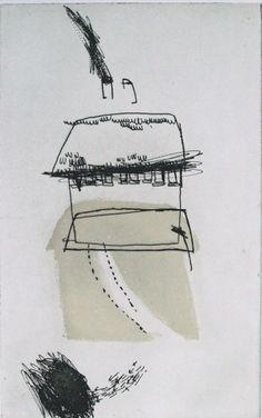 Marise Maas - Avenue Edition: 40 Etching 24.0 x 15.0 cm 43.5 x 31.0 cm