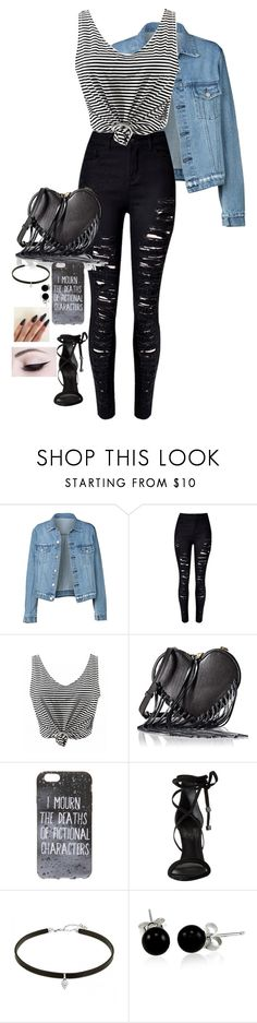 """Untitled #341"" by haymay2000 ❤ liked on Polyvore featuring WithChic, Rebecca Minkoff, Schutz and Bling Jewelry"
