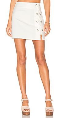 Tori Lace Up Skirt