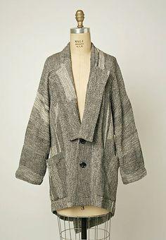 Jacket Comme des Garçons (Japanese, founded 1969) Date: 1983