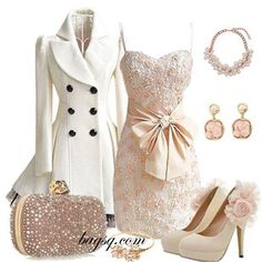 Cute fashion! the coat is the best piece followed by the shoes