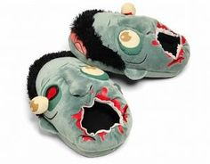 at look like zombie heads; Oversized plush slippers that look like zombie heads; Let them nom on your feet while you walk; Wear them when you're a half-awake zombie. The Walking Dead, Zombies, Top 80, Zombie Head, Zombie Zombie, Zombie Party, Funny Zombie, Zombie Face, Zombie Hunter