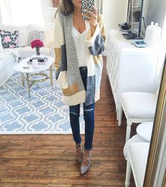 CUTE cardigan looks so cozy too! #nsale