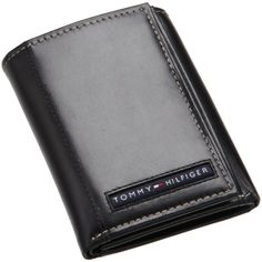 daa2fbb8df Tommy Hilfiger Mens Cambridge Trifold Wallet, Black, One Size - Cambridge  trifold - Apparel