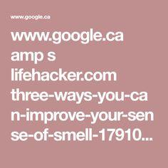 www.google.ca amp s lifehacker.com three-ways-you-can-improve-your-sense-of-smell-1791042921 amp