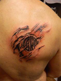 club atletico river plate tattoo by Facundo-Pereyra.deviantart.com on @deviantART