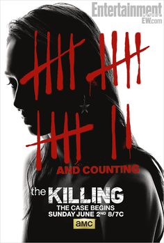 'The Killing' season 3 poster: This time it's a serial killer -- EXCLUSIVE [Debuts June 2, 2013]
