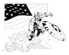 Captain America Riccardo Nunziati