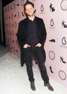 "Pin for Later: You Don't RSVP ""No"" When Chanel Throws a Party Derek Blasberg Derek Blasberg at the Brown Shoe Company anniversary party."