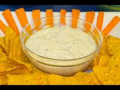 Salsa Ranch Dip o Ranch Dressing al Estilo Hidden Valley.