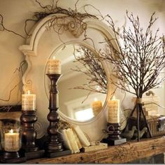 Gorgeous mantle idea