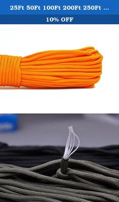 25Ft 50Ft 100Ft 200Ft 250Ft 7 Scores 550 Paracord Outdoor Gear. Nylon vs Polyester --How to distinguish between nylon and polyester! 1 Appearance Polyester looks more dark,feels more rough than nylon. Nylon looks brighter,more smooth than polyester. 2 Burning Polyester has black smoke after burning,the residue can be crushed. Nylon has white smoke after burning,the residue into a plastic-like can not be crushed. 3 Cost Price The cost of nylon is twice of polyester's,but there…