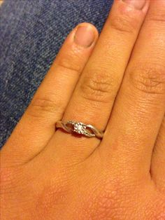 Promise ring zales Id love to have a promise ring some day