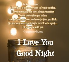 Goodnight I Love You Quotes Glamorous Good Night Messages For My Love  Good Nighteveryday Lines