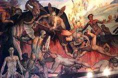 Título: (sección de) El juicio final Autor: Giorgio Vasari Fecha: 1572-1574