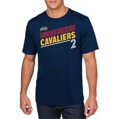 NBA Cleveland Cavaliers Men's Classic Performer Short Sleeve Synthetic Tee, Size: Medium, Blue