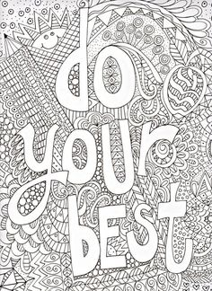 I Like The Coloring Page Were All Exceptional Get Out Those Colored Pencils And Have Some Doodle Fun