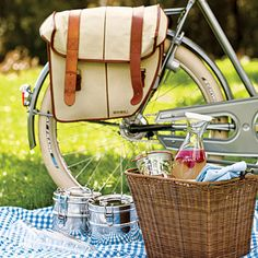 Having a Picnic in a Basket on the grounds of Middleton Place Inn or the Biltmore Estate is always fun.