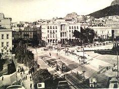 Syntagma square 2 Centuries Ago.