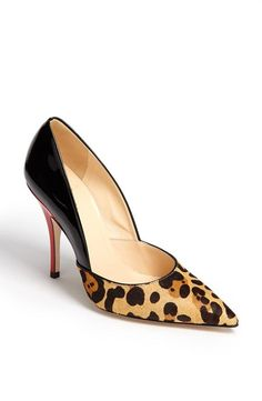 kate spade, you sure do know how to make a wild pump!