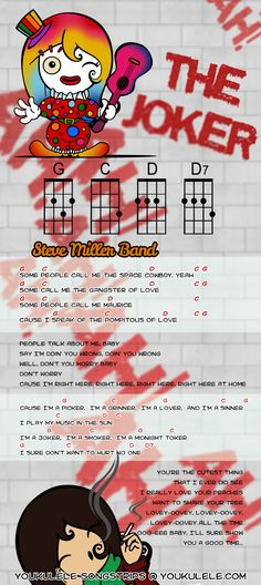 Steve Miller Band - The Joker · YOUkulele