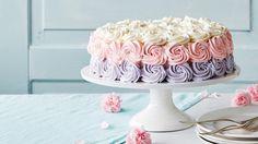 Salat Al Fajr, Avocado Salat, Rose Cake, Piece Of Cakes, Let Them Eat Cake, No Bake Cake, Amazing Cakes, Vanilla Cake, Cake Decorating