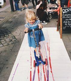 @lovelyfrancesca creating some scooter art