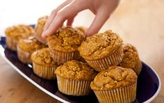 Pumpkin and Millet Muffins. These muffins offer an intriguing crunch, thanks to the toasted millet. Savor them warm from the oven, or freeze a batch to have on hand for company.