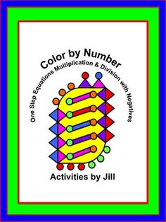 This Color by Number activity requires students to solve