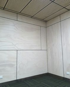 White-washed Radiata plywood