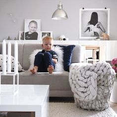 """Our little sunshine💙 is waiting for a lunch. """"Mummy can you take a pic of me? Show me! I am beautiful."""" And I have to add..yes, he is. Every kid IS for his mother💕 thanks God for this little man and our small family💕 . . #interiorstyling #interior4all #piiatuuli #interiordesign #designinterior #skandinaviskehjem #finehjem #villalille #interiorforinspo #scandinavianhomes #scandinaviandesign #scandinavianstyle #lifelikevino #ilovemyinterior #scandinavianinterior #inspireustuesday…"""