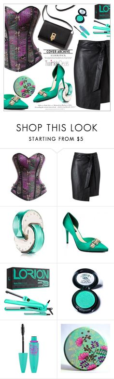 """""""TwinkleDeals 14."""" by selmir ❤ liked on Polyvore featuring Miss Selfridge, Dolce&Gabbana, Lorion, Medusa's Makeup, Maybelline, H&M and twinkledeals"""