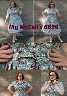 What a great dress, the McCall's 6696