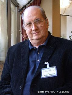 Jordan Maxwell  Eminent researcher. Field - Occult / religious philosophy. Has been researching for over 50 years.