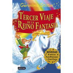 """Ficha de lectura de """"El tercer viaje al reino de la fantasía"""" de Gerónimo Stilton, realizada por Alberto García"""